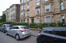 Flat in Deanston Drive...