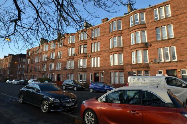 Top floor flat in tenement
