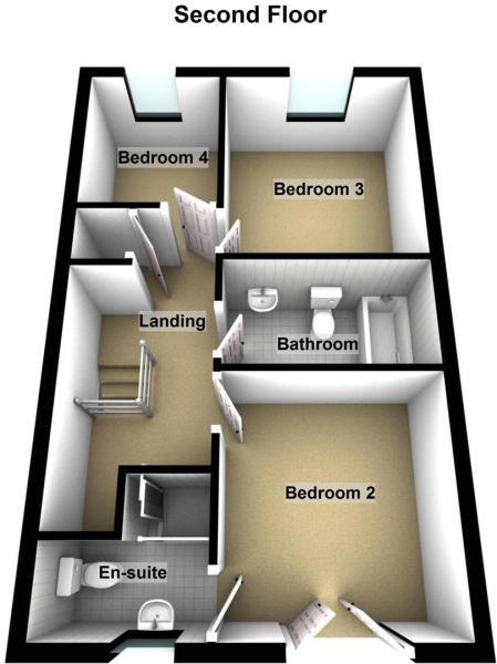 Gladstone - Floor 2.