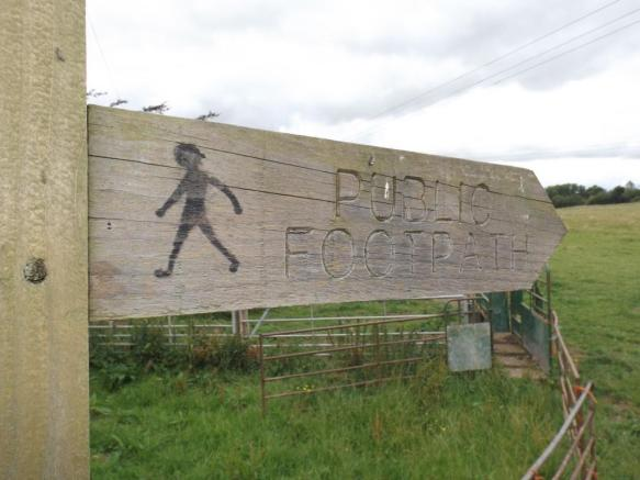 Public Footpath (next to property)