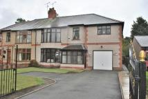 4 bed semi detached house in Chester Road, Wrexham