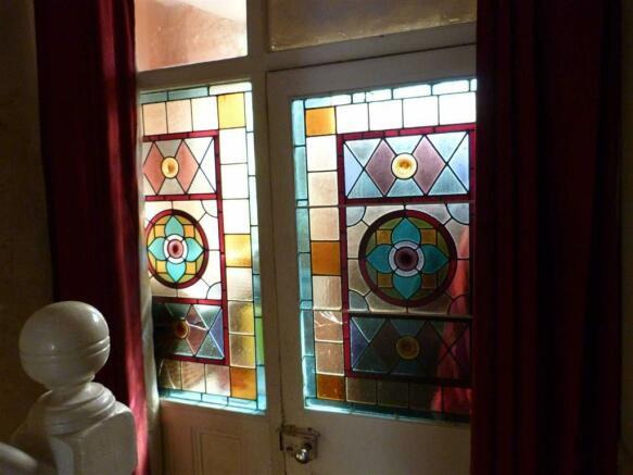 Stained glass door p