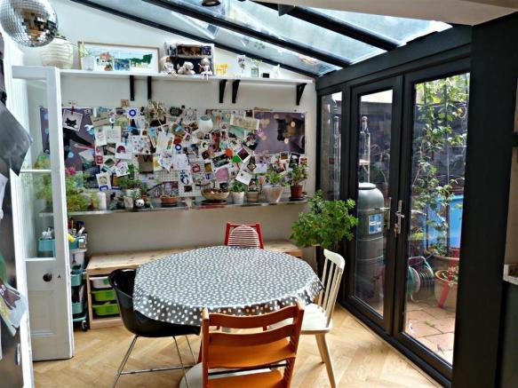 Breakfast area photo