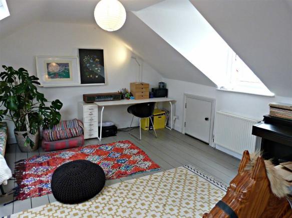Bedroom four in loft