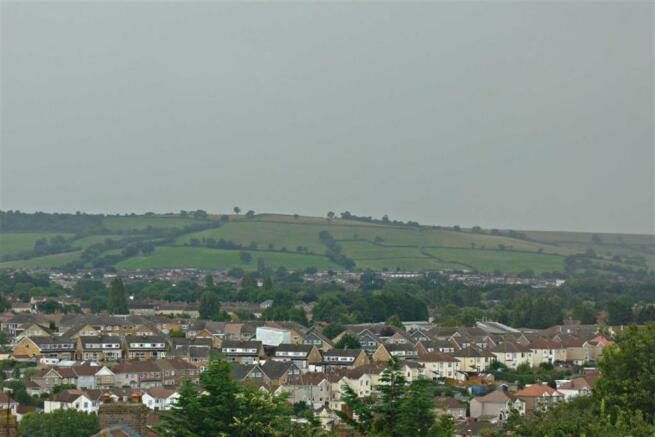Views across South Bristol towards Dundry