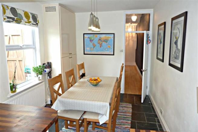 Open plan kitchen/diner (dining area)