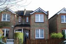 semi detached house for sale in Teddington Park Road...