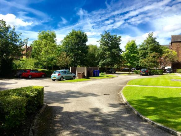Car Park and Communal Gardens