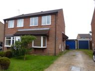 semi detached property in Beaufort Close, Lincoln...