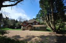 Detached home for sale in Lodge Hill Road...
