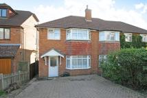 semi detached house in Lansdowne Road, Chesham