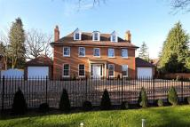 Detached home for sale in Coombe Hill Road...