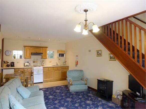 Lavender Cottage Living Room
