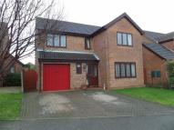 4 bed Detached house for sale in The Meadows, Messingham...