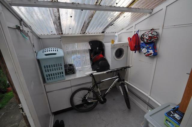 Rear Porch/Utility Room