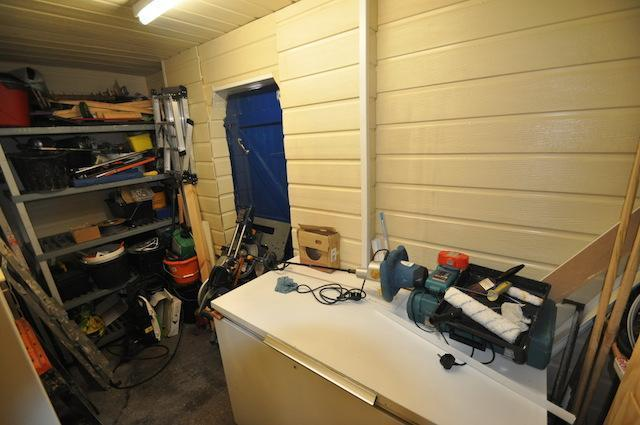 Rear Storage Shed