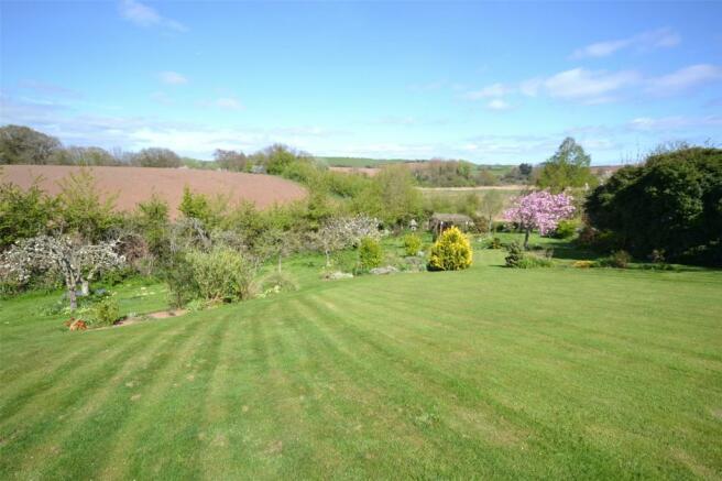 Rear View & Garden