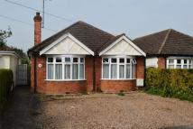Lincoln Road Detached Bungalow for sale