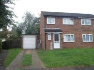 semi detached property to rent in MEADOWBANK, Hitchin, SG4