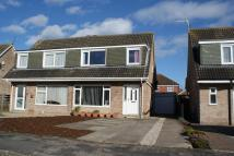 semi detached property for sale in Windsor Drive, Wigginton...
