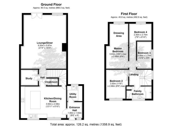 Potential Floorplan Subject To Planning Permission