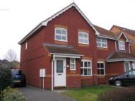 3 bed semi detached property in Sisley Way...