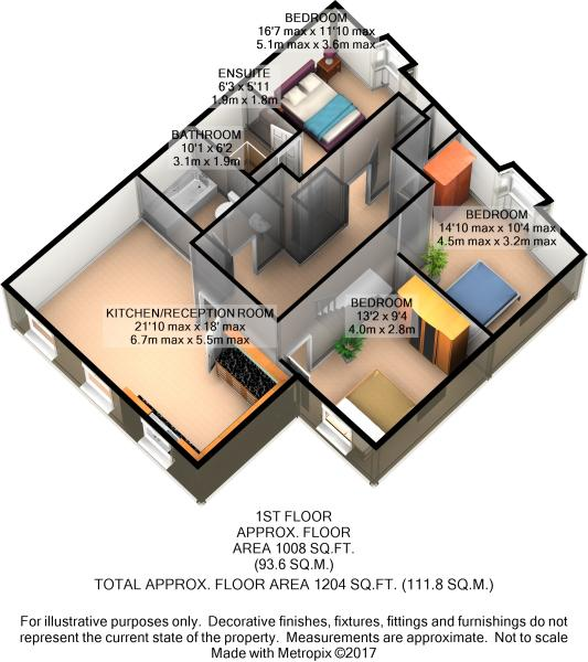 First Floor 3D Plan