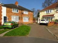 2 bed semi detached property to rent in Rodbourne Road, Harborne...