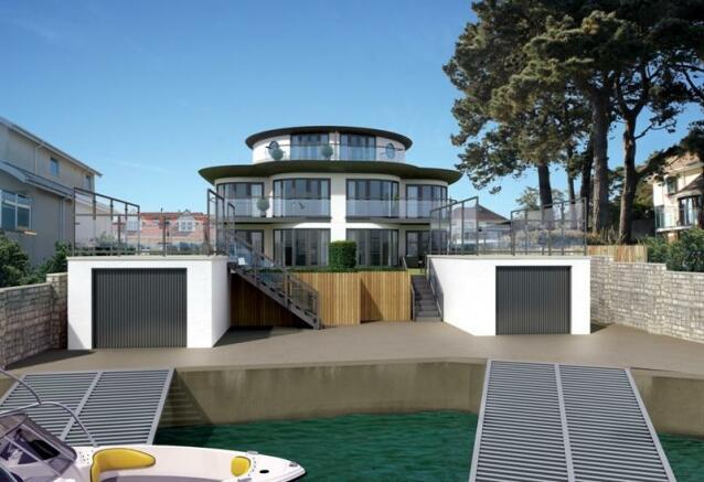 5 bedroom marine property for sale in old coastguard road poole dorset bh13 bh13. Black Bedroom Furniture Sets. Home Design Ideas