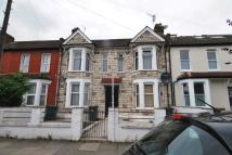 Terraced house in Woodlands Park Road...