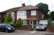 Glenathol Road semi detached property to rent