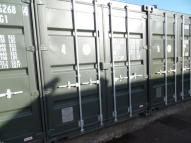 Garage in Self Storage Container 4 to rent