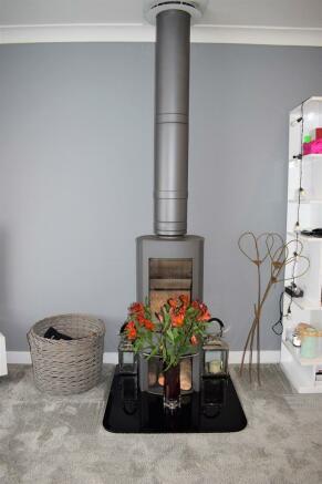 Woodburner (Property Image)