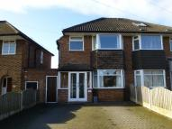 3 bed semi detached property in Wichnor Road, Solihull...