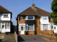 2 bed semi detached property in Wagon Lane, Solihull...