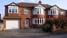 4 bedroom semi detached house in Northfield Lane, Horbury...