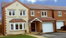 4 bed new house in Moorlands, Barnsley Road...