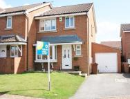 semi detached property for sale in Holly Mede, OSSETT...