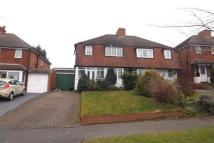 3 bedroom home to rent in Ulverley Cresent, Olton
