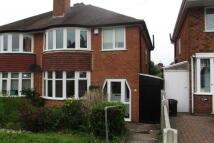 3 bed semi detached property to rent in Nigel Avenue, Northfield