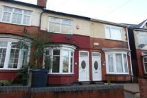 3 bedroom Terraced property to rent in Swindon Road, Edgbaston