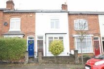 Terraced property in Gordon Road, Harborne