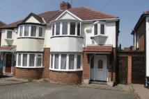 semi detached home in Durley Dean Road...