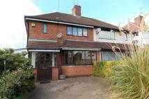 Kenilworth Road semi detached property to rent