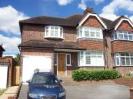 3 bedroom semi detached home for sale in Stoneleigh Park Road...