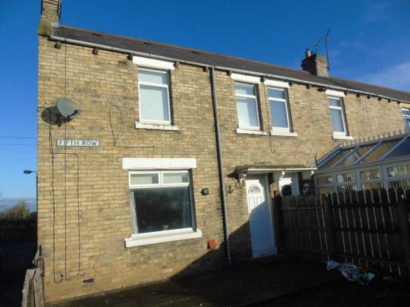 2 bedroom terraced house for sale in fifth row linton for Whats a terrace house
