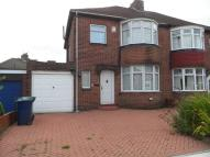 3 bed semi detached house in Vancouver Drive...