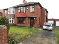 semi detached house in York Avenue, Jarrow, NE32