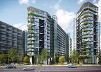 1 bed Flat in Riverlight, Nine Elms...