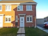 Terraced house in The Sidings, Blackhall...